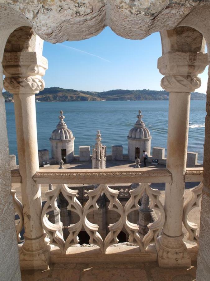 vista da torre de belem